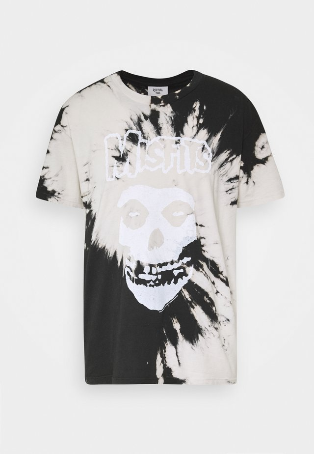 MISFITS - T-shirt con stampa - black