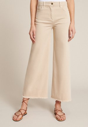 Flared Jeans - champagne