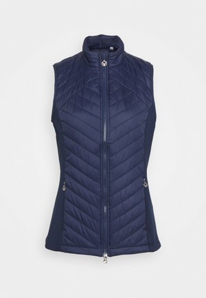 SWING TECH PUFFER VEST - Chaleco - peacoat