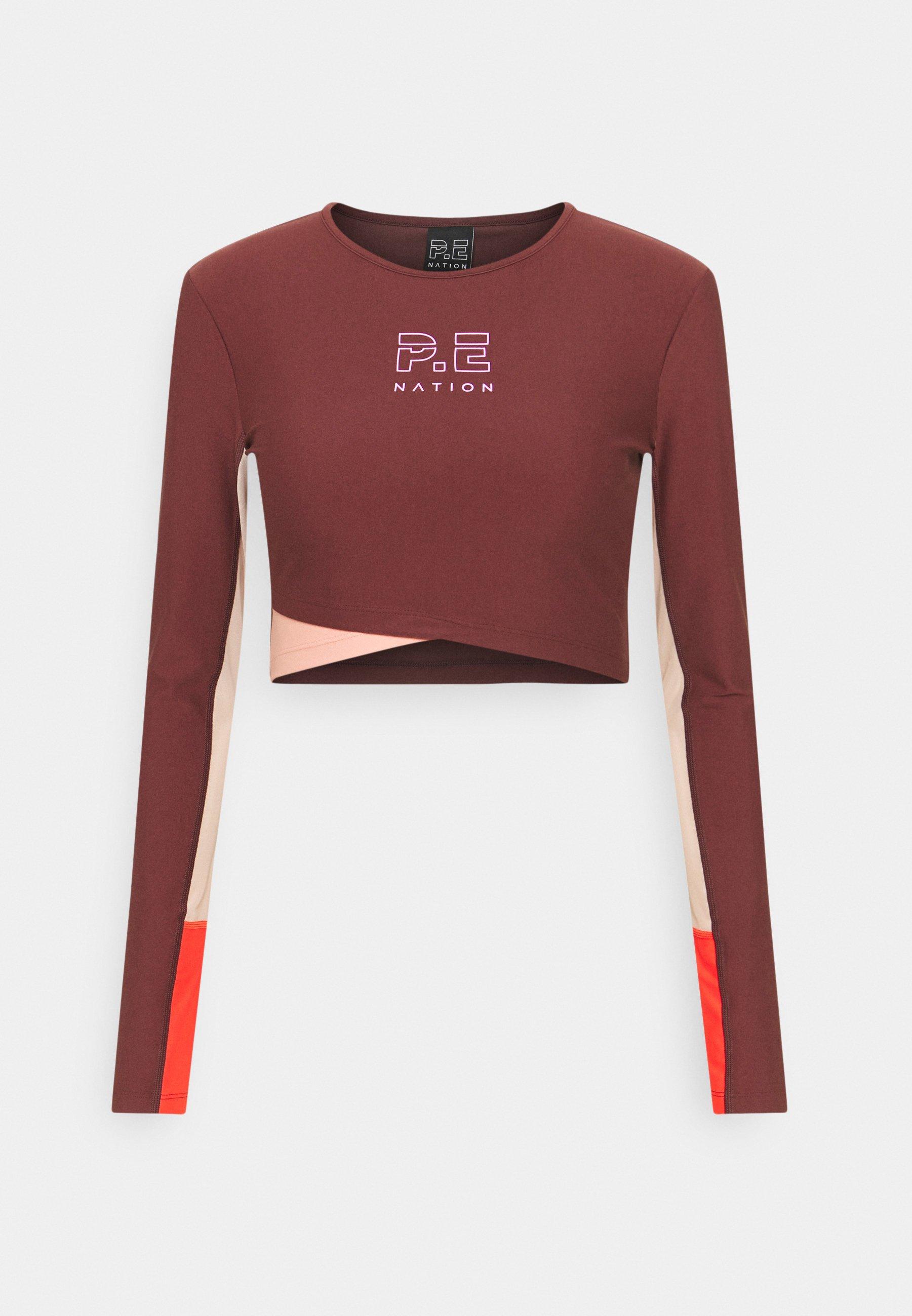 Women POINT FORWARD - Long sleeved top