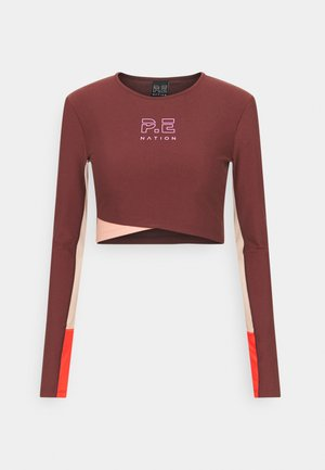 POINT FORWARD - Long sleeved top - purd