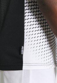 Nike Performance - ACADEMY - T-shirt print - black/white - 4