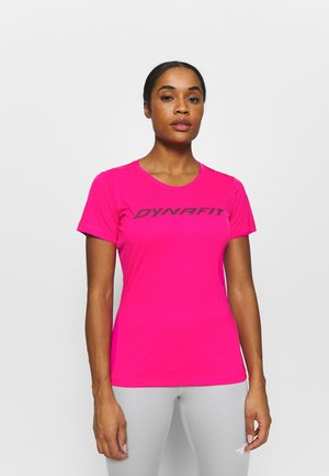 TRAVERSE TEE - T-shirt z nadrukiem - pink glo