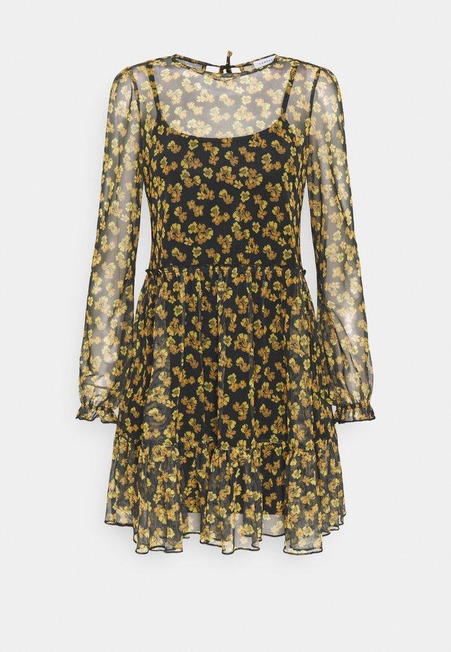 GRUNGE MINI CHUCK ON - Denní šaty - multi-coloured