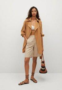 Mango - Trenchcoat - brown - 1