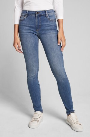 Slim fit jeans - medium denim blau