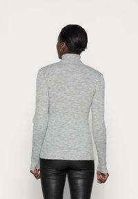 Selected Femme - Jumper - light grey melange - 2