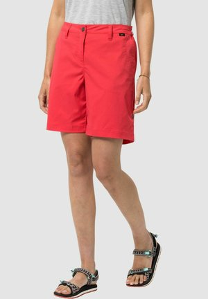 Shorts - tulip red