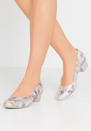 COURT SHOE - Classic heels - light grey