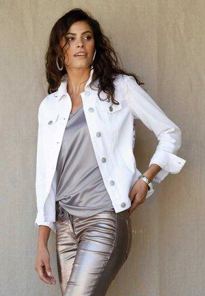 Denim jacket - weiß/multicolor