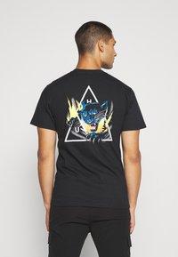 HUF - JUNGLE CAT TEE - Print T-shirt - black - 0