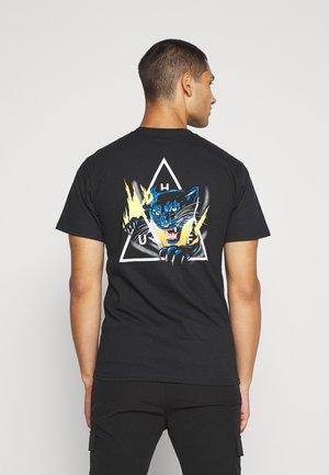 JUNGLE CAT TEE - Printtipaita - black