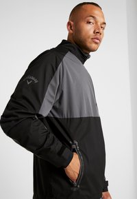 Callaway - BLOCK  WINDJACKET - Veste de survêtement - caviar - 6