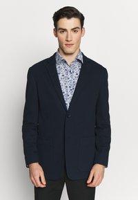 Calvin Klein Tailored - DOUBLE STRUCTURE - Blazer jacket - blue - 0