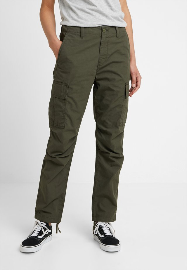 CYMBAL PANT COLUMBIA - Trousers - cypress rinsed