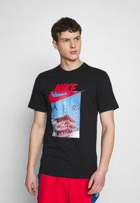 Nike Sportswear - AIR PHOTO TEE - T-shirt con stampa - black - 0