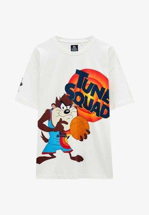 SPACE JAM TAZ - Print T-shirt - white