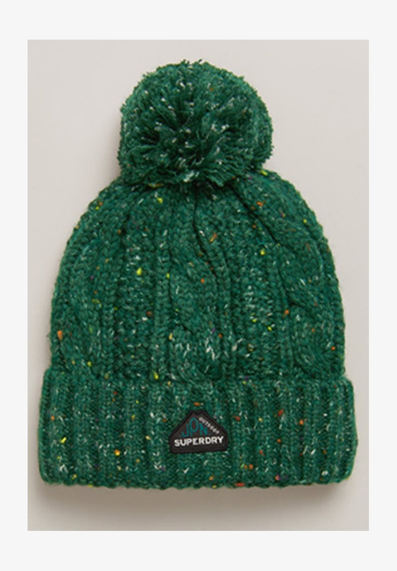 Superdry - GRACIE  - Beanie - burlington green tweed