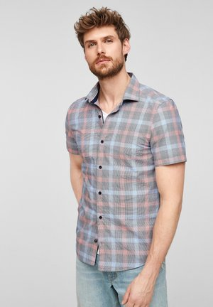 Overhemd - blue check