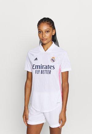 REAL MADRID AEROREADY SPORTS FOOTBALL  - Klubbklær - white