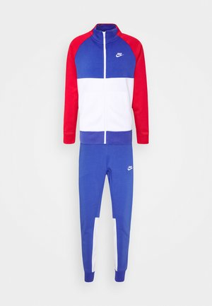 SUIT SET - Verryttelypuku - astronomy blue/university red/white