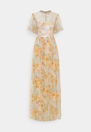 SUNSET SEQUIN BODICE MAXI DRESS - Occasion wear - ivory