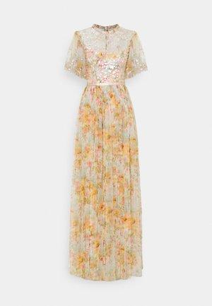 SUNSET SEQUIN BODICE MAXI DRESS - Společenské šaty - ivory