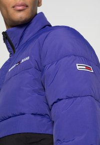 Tommy Jeans - REVERSIBLE PUFFER JACKET - Talvejope - court blue/multi - 5