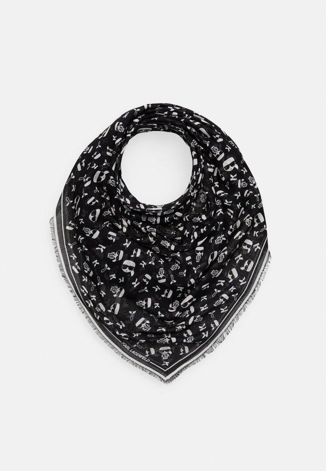 K IKONIK SCARF - Šátek - black
