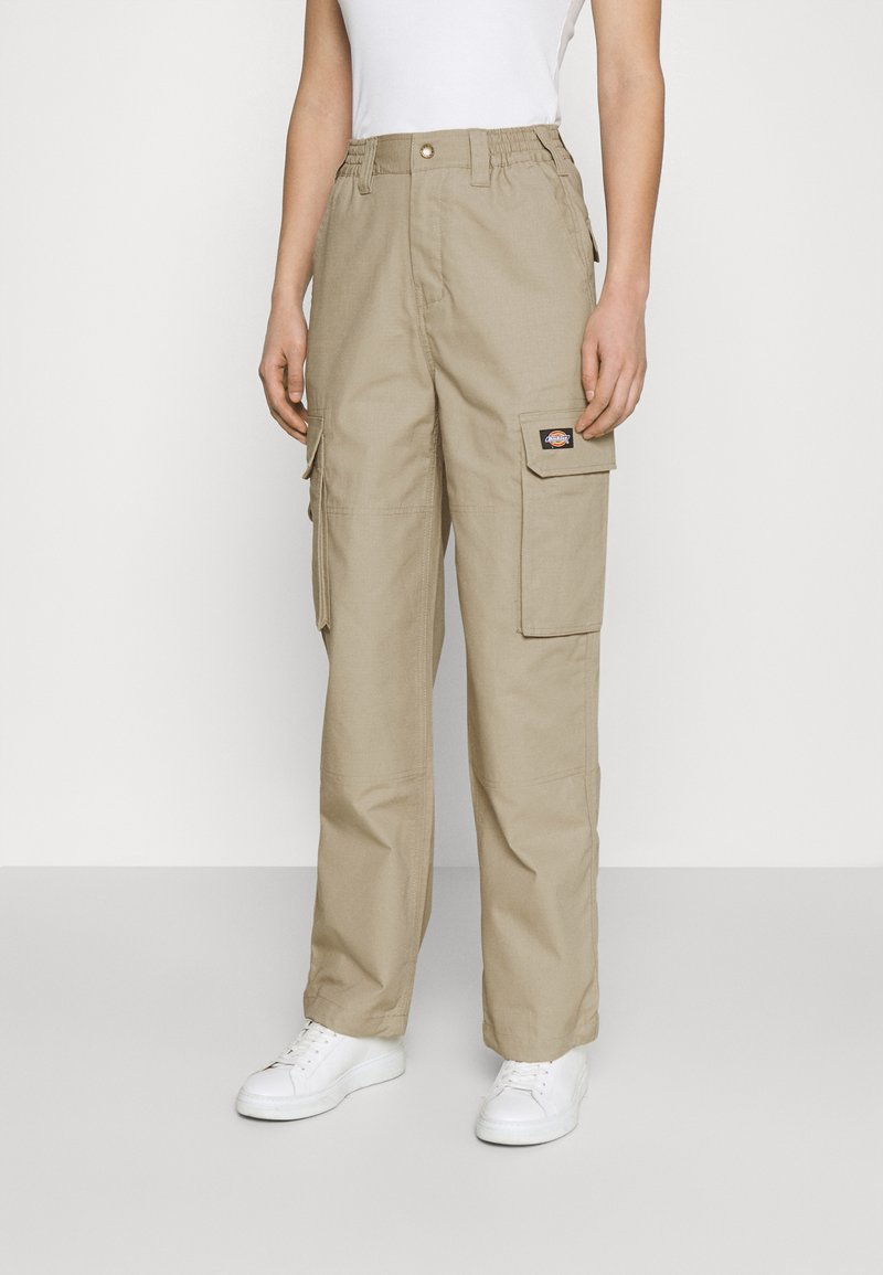 Dickies - COMBA ELASTICATED CARGO - Cargo trousers - khaki