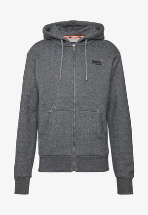 CLASSIC ZIP HOOD - Zip-up hoodie - dark grey