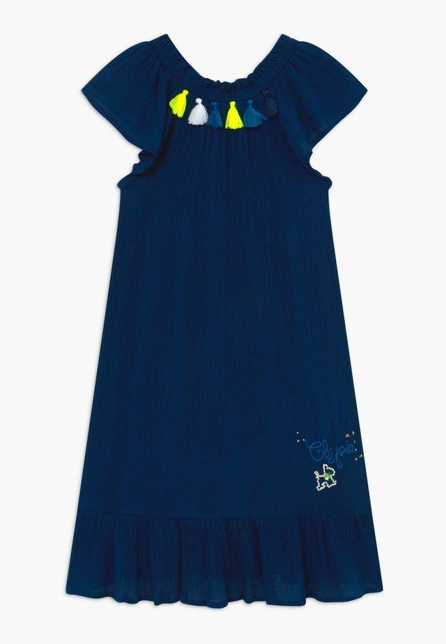 ROBE À MANCHES - Vestido informal - bleu navy