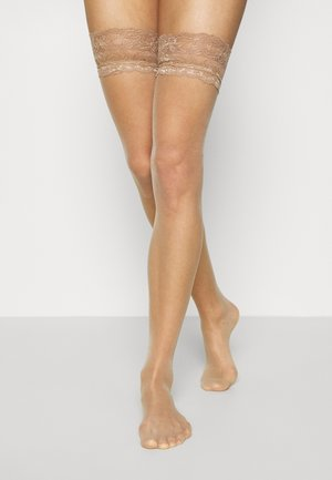 ADORE TOP HOLD UP 2 PACK - Over-the-knee socks - neutral
