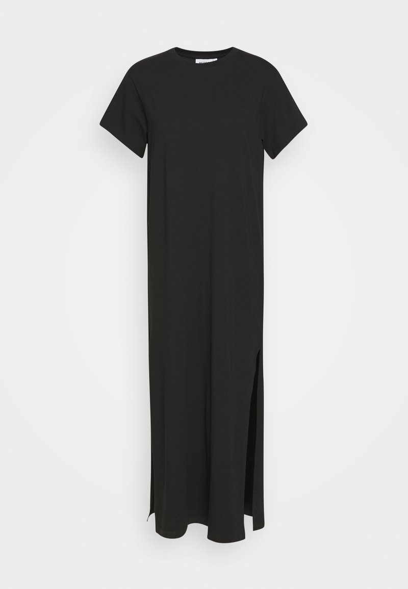 Weekday - STROKE DRESS - Maxi dress - black