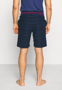 Tommy Hilfiger - SHORT LOGO - Pyjama bottoms - blue - 2