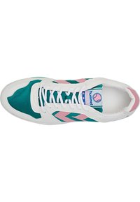 Hummel Hive - POWER PLAY VEGAN ARCHIVE - Sneakersy niskie - white/purple parachute - 1