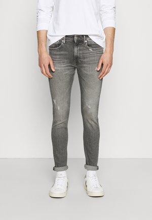 SKINNY - Jean slim - grey