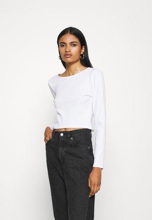 TANIA - Langærmede T-shirts - solid white
