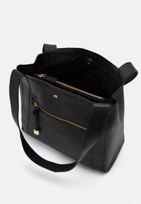 Anna Field - LEATHER - Handbag - black - 2
