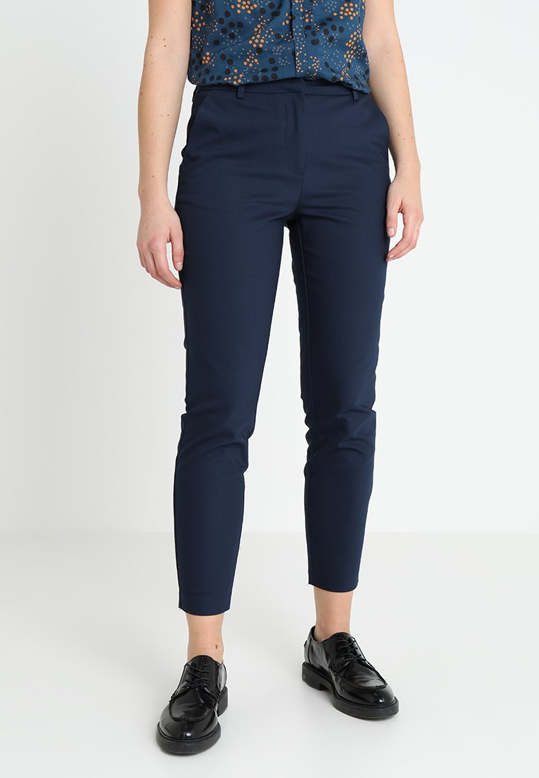 Vila - Trousers - navy