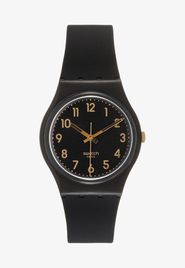 GOLDEN TAC - Horloge - black