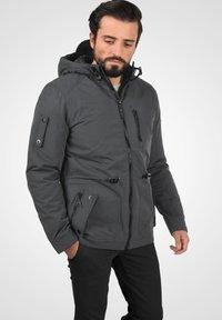 Blend - WINTERJACKE MARCO - Winter jacket - ebony grey - 0