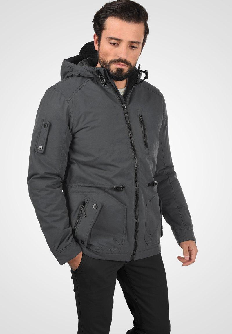 Blend - WINTERJACKE MARCO - Winter jacket - ebony grey