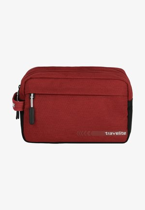 KICK OFF  - Wash bag - red