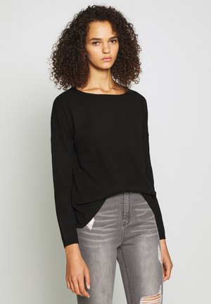 ONLBRENDA TALL - Strickpullover - black