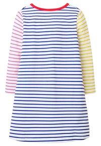 Boden - MIT TASCHE - Jersey dress - naturweiß/blitzblau - 1