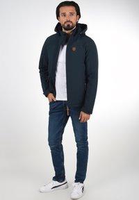 INDICODE JEANS - Outdoor jacket - navy - 1