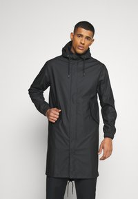 Rains - FISHTAIL UNISEX  - Parka - black - 0