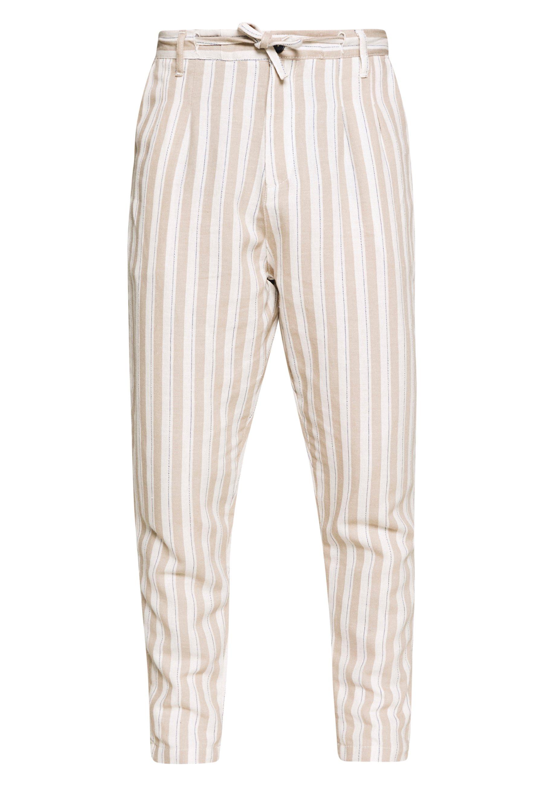 Gianni Lupo PANTS - Pantalon classique - beige