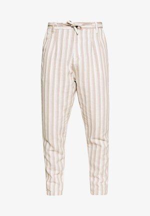 PANTS - Pantaloni - beige